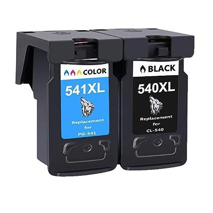 Wolfgray PG-540XL CL-541XL Cartuchos de tinta de impresora ...