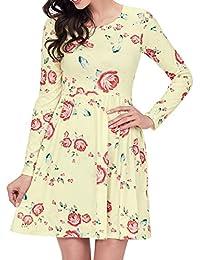 Floral Swing T-Shirt Dress