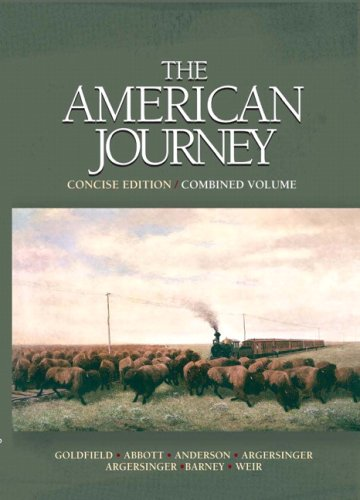 The American Journey: Concise Edition, Combined Volume