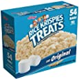 Rice Krispies Treats, Original Marshmallow, 0.78oz Pack, 54 per Carton, Sold as 1 Carton
