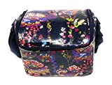 Vera Bradley Stay Cooler Insulated Lunch Box New (Midnight Wildflowers)