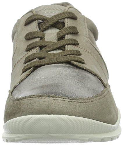 Ecco Damen Mobile III Sneakers Beige (STONE/MOONROCK/MOONROCK 59717)