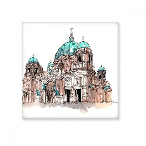 Berlin Cathedral in Germany Ceramic Bisque Tiles Bathroom Decor Kitchen Ceramic Tiles Wall Tiles