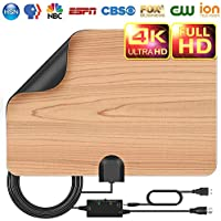 Updated 2018 TV Antenna,Double-Sided Availability Indoor...