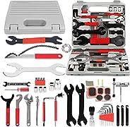 AOPANDA Bike Repair Tool Kit, Universal Bicycle Repair Tool Kit Professional Complete Maintenance Tool Set wit