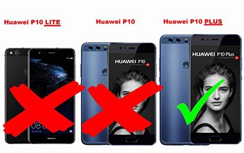 Cadorabo - Cubierta protectora para >                                  Huawei P10 PLUS                                  < de silicona TPU en diseño Escarcha