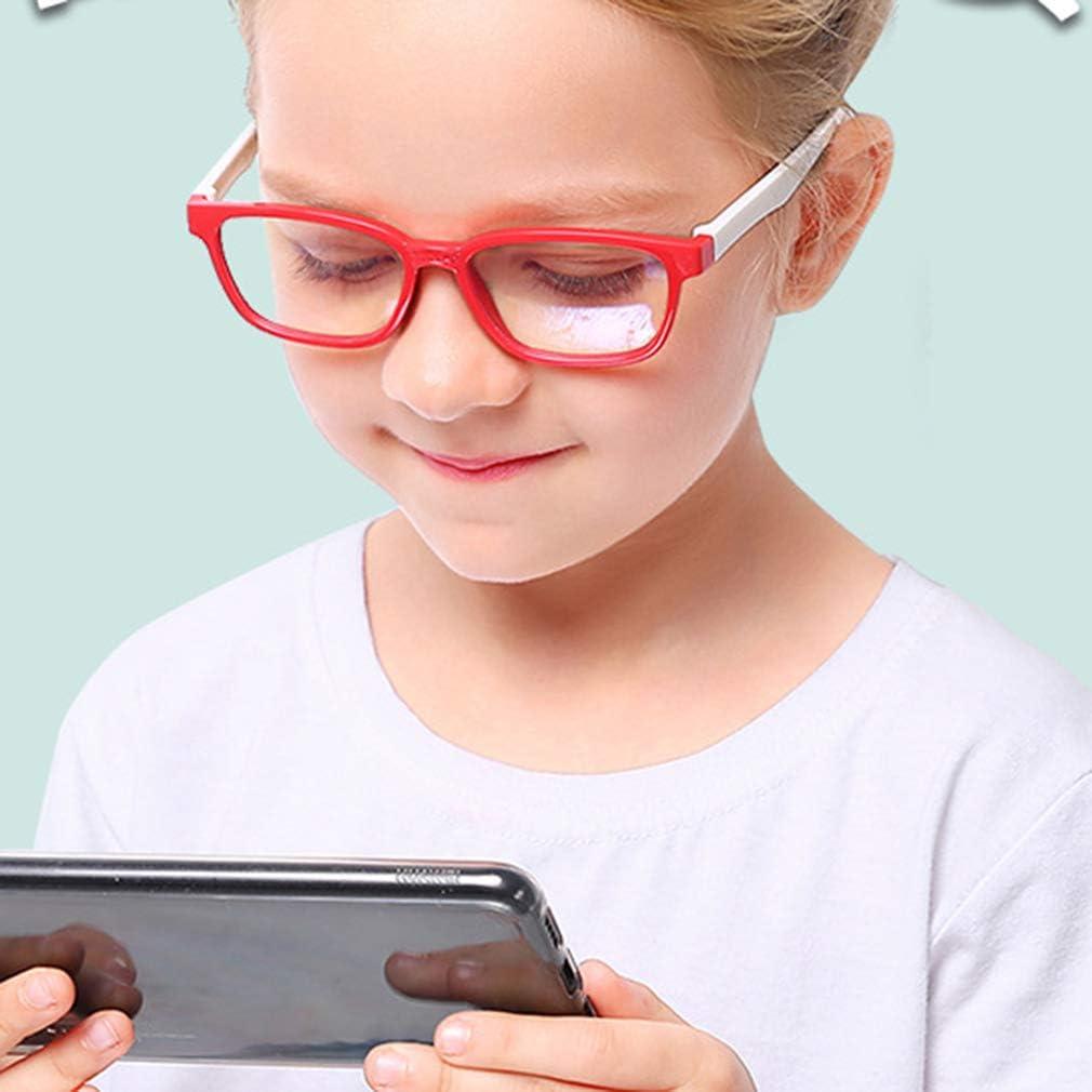 occhiali anti luce blu per computer//giochi per PC//TV//telefono cellulare//occhiali da lettura ka18083007 Junkai Ragazze Ragazzi Occhiali da vista