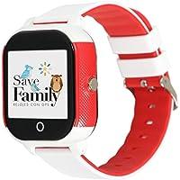 Reloj con GPS para niños Save Family Modelo Junior Acuático IP67. Smartwatch Juvenil. Botón SOS, Anti-Bullying, Chat…