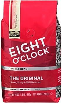 24 Ounce Eight O'Clock The Original Whole Bean Coffee