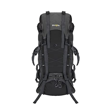 Amazon.com : Bonnlo 60L Hiking Backpack with Internal Frame, Travel ...