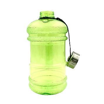 GEZICHTA - Botella de agua deportiva grande de 2,2 L con asa, sin