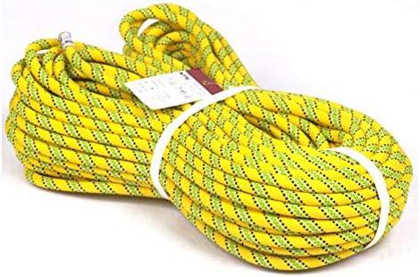 釣りの磁石ロープ10メートル、安全ロックが付いている重いロープ、Diameter10mm の安全および耐久,Yellow,20m