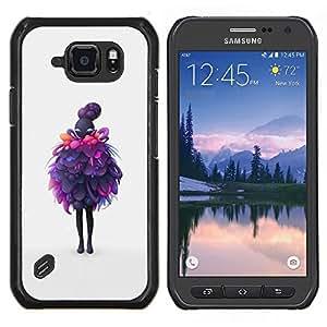 Stuss Case / Funda Carcasa protectora - Capas Purple - Samsung Galaxy S6Active Active G890A
