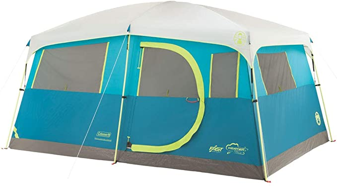 Coleman 8 Person Cabin Camping Tent