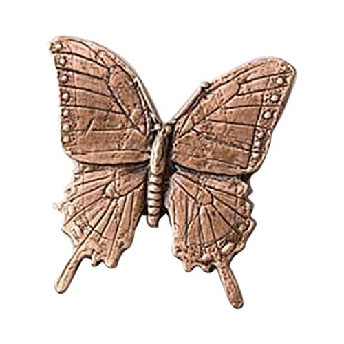 Creative Pewter Designs, Pewter Tiger Swallowtail Butterfly Lapel Pin Brooch, Copper Plated, (Tiger Butterfly Brooch)