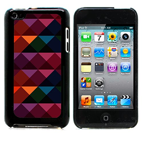 Graphic4You TRIANGLE STACKS PATTERN HARD CASE COVER FOR APPLE iPod Touch 4th Generation 4G