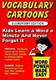 Vocabulary Cartoons: Word Power Made Easy   [VOCABULARY CARTOONS] [Paperback]