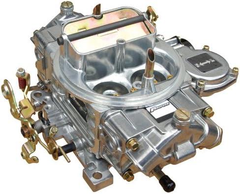 Proform 67212 Street Series 650 CFM Polished Aluminum Dual Inlet 4-Barrel Square Bore Mechanical Secondary Carburetor with Electric Choke