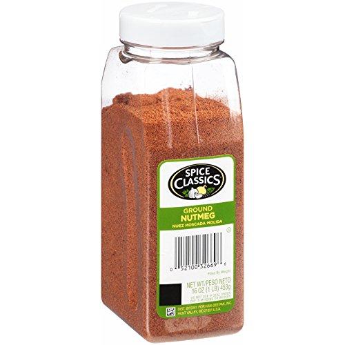 Spice Classics Ground Nutmeg, 1 Pound