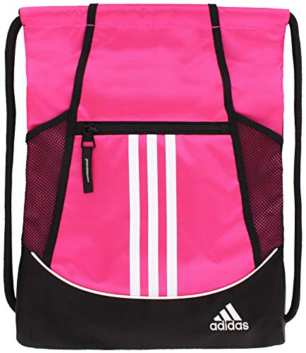 adidas Unisex Alliance II Sackpack, Team Shock Pink, ONE SIZE