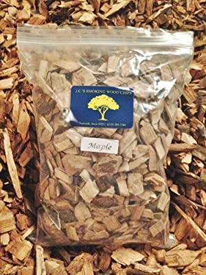 J.C.'s Smoking Wood Chips - 210 Cu Inch Gal Bag - Maple by J.C.'s Smoking Wood Products