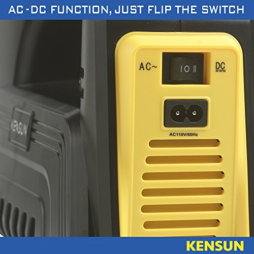 51a4a7 bUKL - Kensun AC/DC Rapid Performance Portable Air Compressor Tire Inflator with Digit