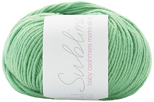 Sublime Baby Cashmere Merino Silk Knitting Yarn DK 604 Jelly Bean - per 50 gram ball ()