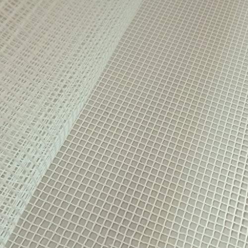 KOVIPGU 100x150cm Blank Rug Hooking Mesh Canvas Latch Hook Rug Making Carpet Tapestry DIY Kit Tool for Embroidery Crafts Decoration