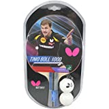 Butterfly 8828 Timo Boll Table Tennis Racket-1000 Model-1 Ping Pong Paddle-ITTF Approved-Sponge
