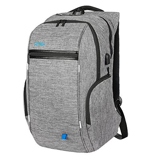 17.3 Inch Laptop Backpack with USB Port,DTBG Nylon Roomy ...