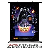 Lego Star Wars Movie Fabric Wall Scroll Poster (16x24) Inches