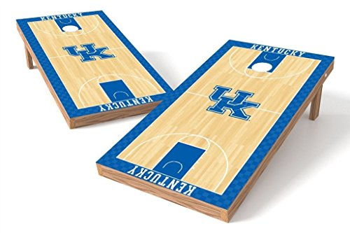 - PROLINE 2'x4' NCAA College Kentucky Wildcats Cornhole Set - Hoops Design