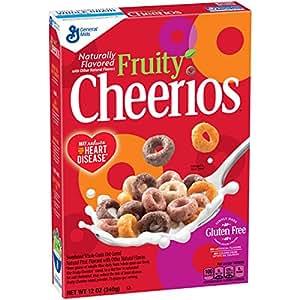 Fruity Cheerios Cereal 12 oz Box