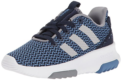 adidas Kids CF Racer TR Running Shoe, Collegiate Navy/Collegiate Navy/Grey, 5.5 M US Big Kid
