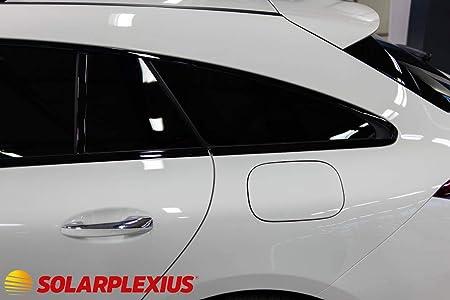 Solar Screen Passgenaue T/önungsfolie Hyundai Getz 5-T/ürer Bj 2002-2008 Black 75