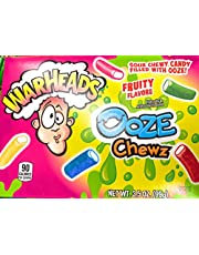 Warheads Ooze Chews - 1 Theater Box - 3.5 OZ - Imported from US