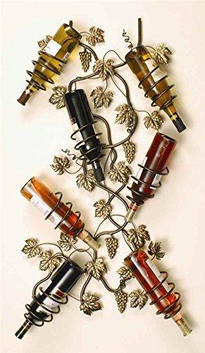 7 bottle wall wine rack - 1