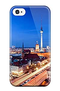 David J. Bookbinder's Shop Tpu Case Skin Protector For Iphone 4/4s Berlin City With Nice Appearance