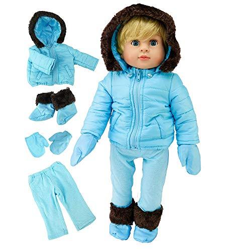 Blue 4pc Snowsuit | Fits 18