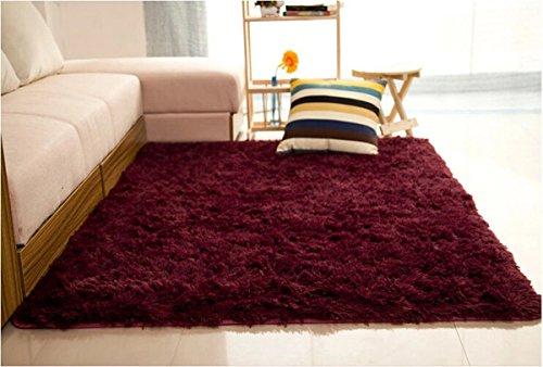 Cherokee Carpet Kit (Fluffy Rugs Anti-Skid Shaggy Area Rug Dining Room Home Bedroom Carpet Floor Mat)