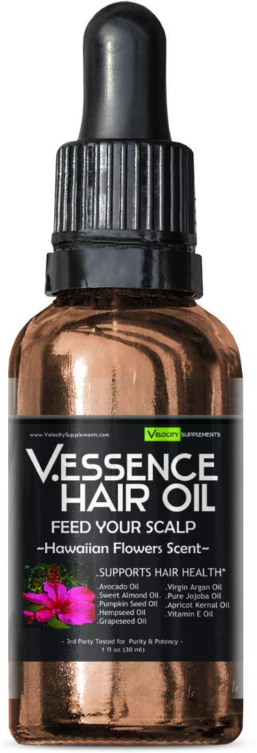 Hair Oil Bundle 6 Pack of Difference Scents by Velocity Supplements (Image #3)
