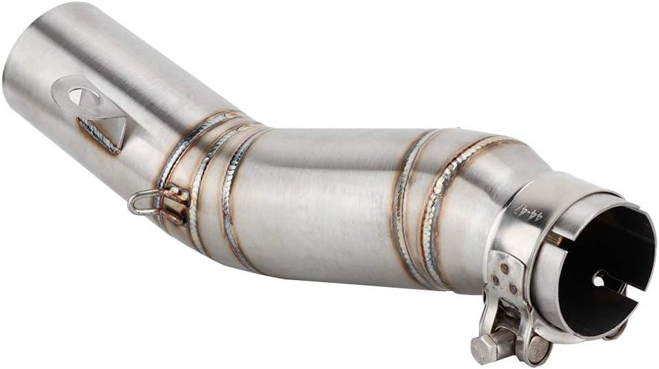 Auspuff Schalldämpfer Rohr Motorrad Modifikation Auspuff Mittelrohr Verbindungsrohr Schalldämpfer Für R6 2006 2014 Auto
