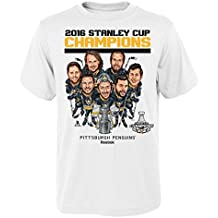 NHL boys Short Sleeve Tee 2016 NHL Caricature Champs