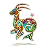 Seeka Ambitious Capricorn the Sea Goat Zodiac Pin from The Artazia Collection P0910