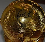 BASTIAN SCHWEINSTEIGER signed (2014 FIFA WORLD CUP) BRAZIL TROPHY *GERMANY* COA - Soccer Autographed Miscellaneous Items
