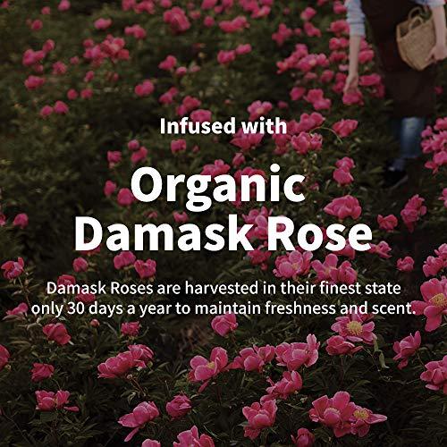 Mamonde Rose Water Toner Organic Damask Facial Rosewater, 8.45 Fl Oz