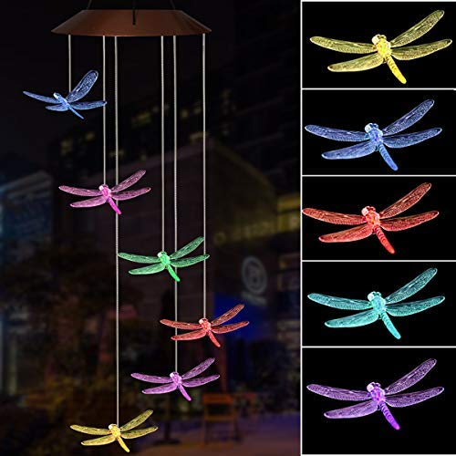 Outdoor Solar Lights Dragonfly in US - 2