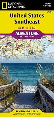 United States, Southeast (National Geographic Adventure Map)