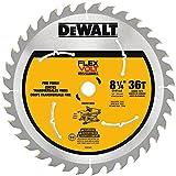 "DEWALT DWAFV3836 Flexvolt 36T Table Saw Blade, 8-1/4"""