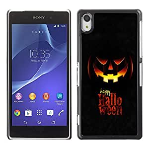 GagaDesign Phone Accessories: Hard Case Cover for Sony Xperia Z2 - Happy Halloween